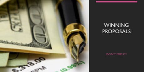 The Art of Writing Winning Proposals:  What Every Grant Writer Needs To Know tickets