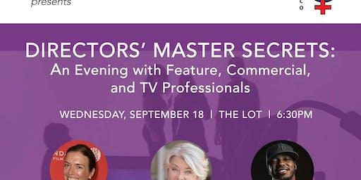 Directors' Master Secrets