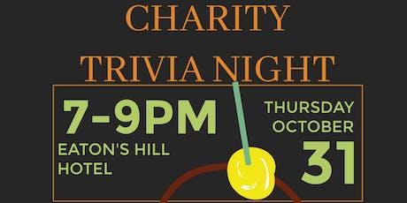 Trick or Treat Charity Trivia Night tickets