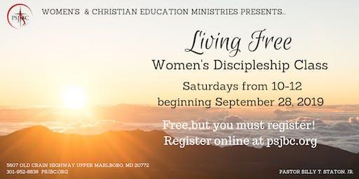 Living Free Women's Discipleship Class