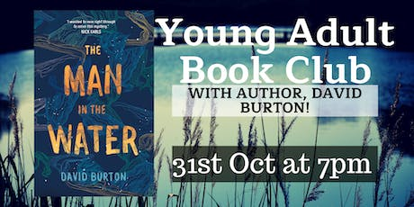 Young Adult Book Club with Author, David Burton! tickets