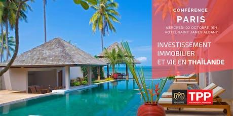 PARIS - Conférence: Vivre et Investir en Thaïlande tickets