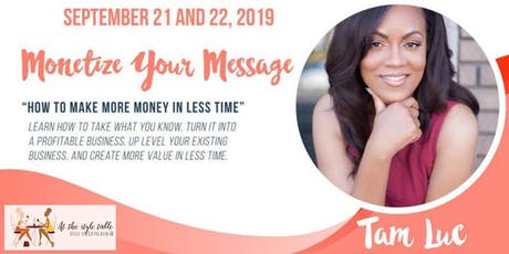 The Superwoman Series: Monetize Your Message tickets