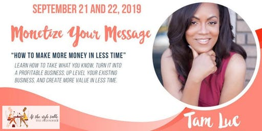 The Superwoman Series: Monetize Your Message