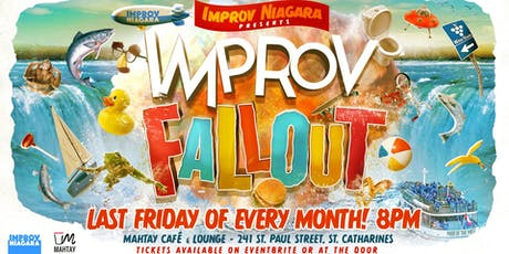 Improv Fallout - Fall Shmall tickets
