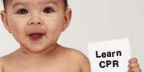 Infant and Child First Aid and CPR Class tickets