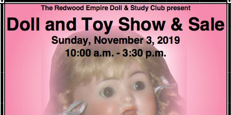 Santa Rosa Doll and Toy Show and Sale