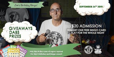 Jim's Big Bingo Birthday Bash tickets