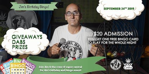 Jim's Big Bingo Birthday Bash