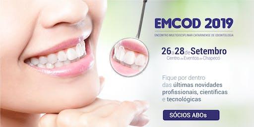 EMCOD 2019 - Ingresso para Sócios de outras ABOs