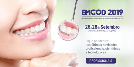 EMCOD 2019 - Ingresso para Profissionais