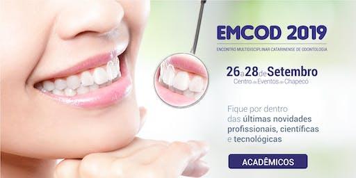 EMCOD 2019 - Ingresso para Acadêmicos
