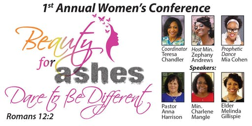 2019 Beauty For Ashes Women's Conference