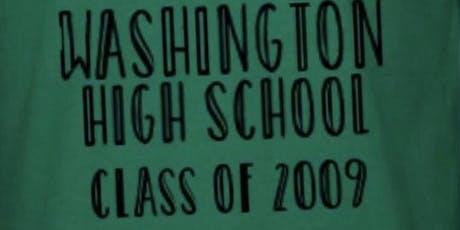 2009 Washington High School Reunion tickets