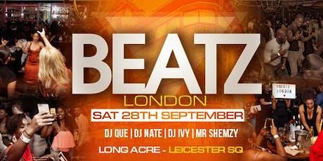 BEATZ LONDON  tickets