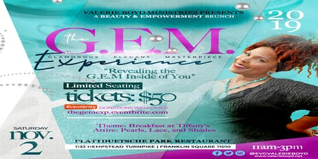 The G.E.M. Experience Brunch tickets