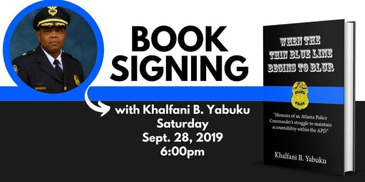 Book Signing: When the Thin Blue Line Begins to Blur