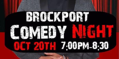 Brockport Comedy Night Starring Joel James & friends  tickets