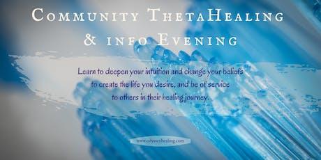 Community ThetaHealing & Info Evening tickets