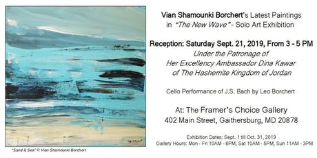 """THE NEW WAVE"" by Vian Borchert tickets"