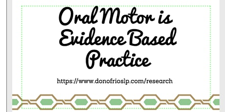 Orthodontics, Oral Surgery, OSA & Oromyofunctional Therapy tickets
