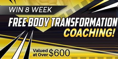Win 8 Weeks Free Body Transformation Coaching ! tickets