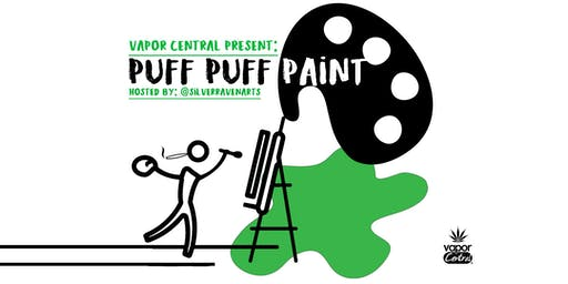 """""""Puff Puff Paint"""" Cannabs Paint Night"""