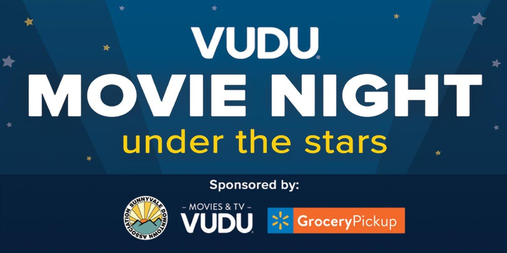 VUDU Movie Night Under the Stars! Tickets, Sat, Sep 7, 2019