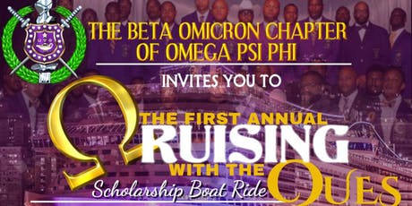 "BETA OMICRON - OMEGA PSI PHI PRESENTS ""CRUISING WITH THE P'COLA QUES"" tickets"