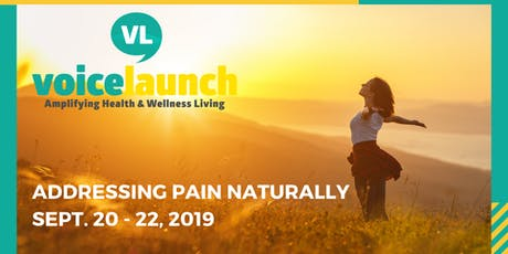 Addressing Pain Naturally tickets