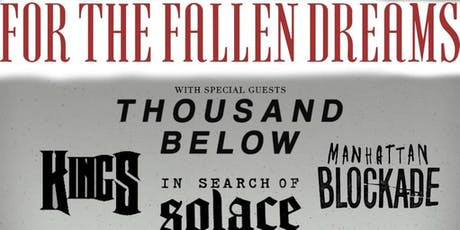 RCC Presents:For The Fallen Dreams/ Thousand Below tickets