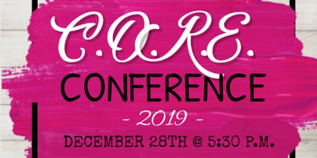 C.O.R.E. Women's Conference: Cycles tickets