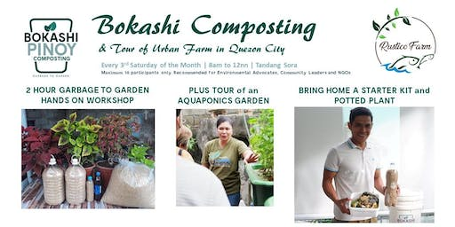 Bokashi Composting Seminar and Tour of Rustico Farm