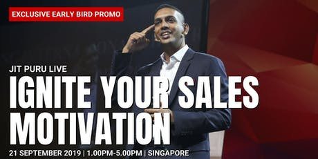 Ignite Your Sales Motivation tickets