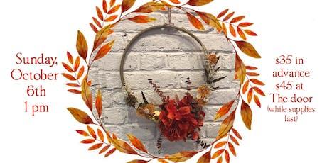 Fall Wreath Craft at Mayday tickets