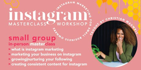 Instagram Masterclass Workshop tickets