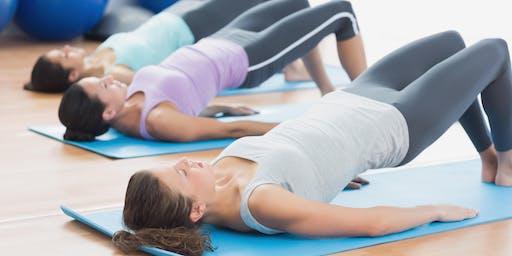 Pilates in the Park, Joe Bradfield Park, Carina