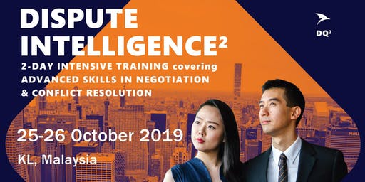 Advanced Negotiation & Conflict Resolution Skills: KL (25-26 October 2019) - Shortlist Only