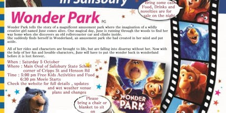 Community Movie in the Park tickets