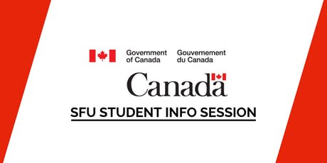 SFU Government of Canada Student Info Session (ROOM & TIME TBC) tickets