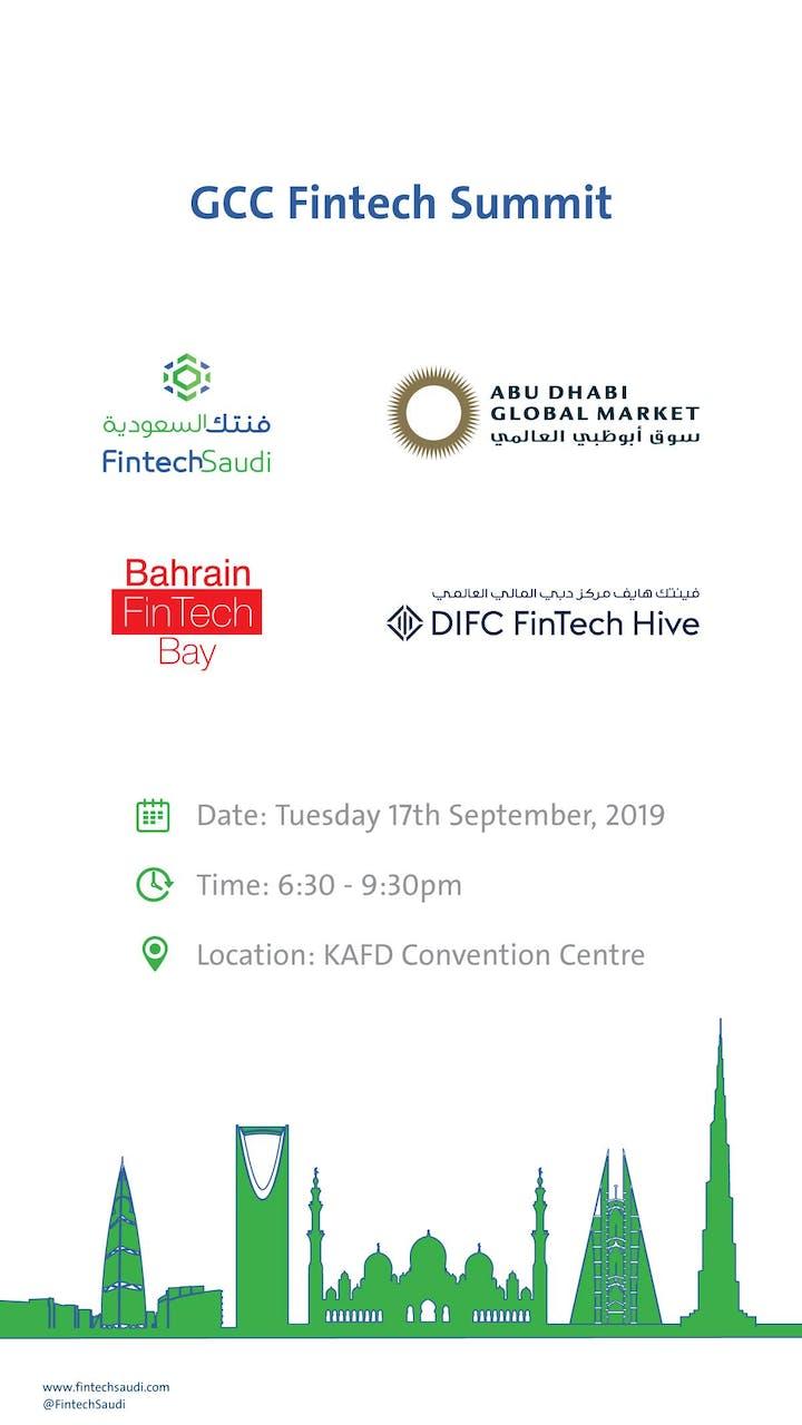 GCC Fintech Summit Tickets, Tue, Sep 17, 2019 at 6:30 PM
