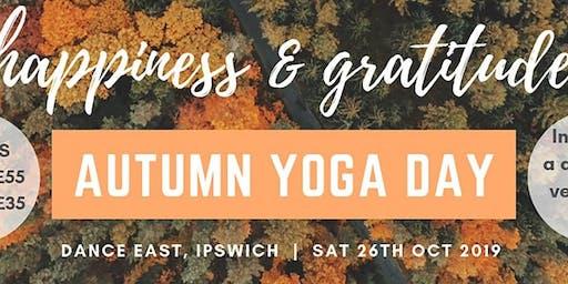 Autumn Yoga Day - Full Day