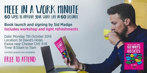 """Meee in a Work Minute"" Workshop and Book launch event"