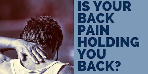 Is your back pain holding you back?