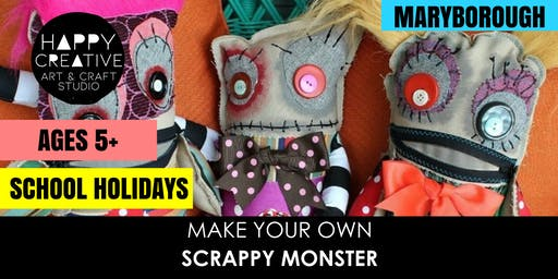 Scrappy Monster (Ages 5+)