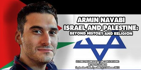 Armin Navabi on Israel and Palestine: Beyond History and Religion tickets