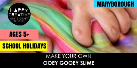 Ooey Gooey Slime (Ages 5+) tickets