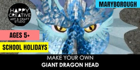 Giant Dragon Head (Ages 5+) tickets