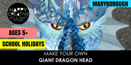 Giant Dragon Head (Ages 5+)