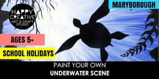 Underwater Scene (Ages 5+)